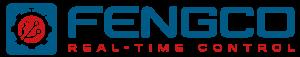 Fengco Logotyp blå röd