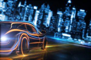 Autonomous driving future car Fengco